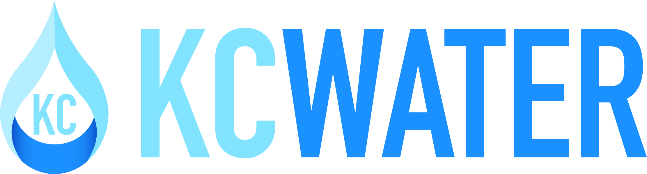 KC Water logo